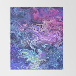 Transcend into your dreams Throw Blanket