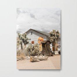 Arizona Desert Sun Photo Print   Historic Famous Route 66 Scene Art   USA Digital Travel Photography Metal Print