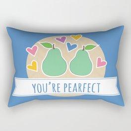 Pearfect Food Pun Rectangular Pillow