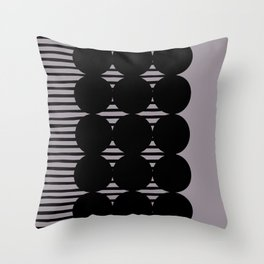 MULTI CERCLES Throw Pillow
