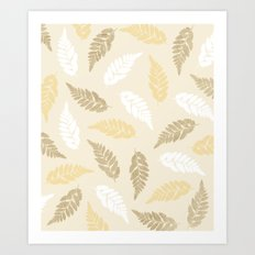 Fern Fronds Art Print