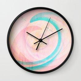 Early Morning Flight Wall Clock