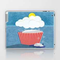 Snowy Cupcake Laptop & iPad Skin