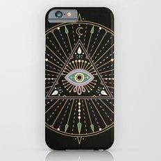 Evil Eye Mandala – Black iPhone 6 Slim Case