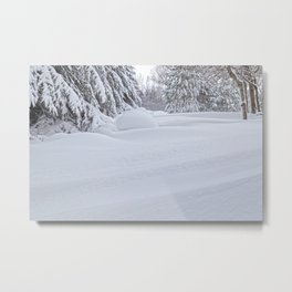 Snowdrifts 6 Metal Print