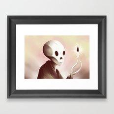 oil worshipper Framed Art Print