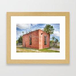 Abandoned Brick Building #6 Framed Art Print