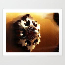 Narita-san Temple Door Art Print