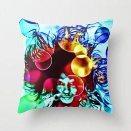 MinikeGirl Singersongwriter Throw Pillow