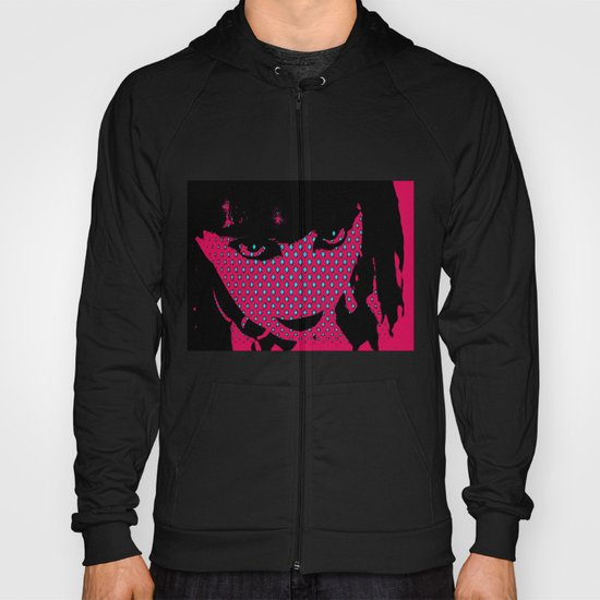 Abstract Face 2 Hoody