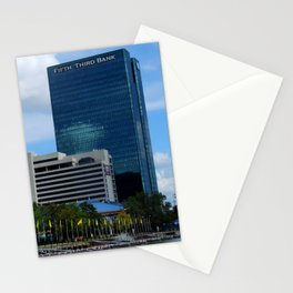 Toledo Fifth Third Bank Downtown Stationery Cards