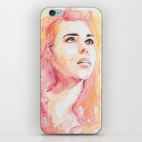 bad wolf iPhone & iPod Skins featuring Bad Wolf by Maria Bruggeman