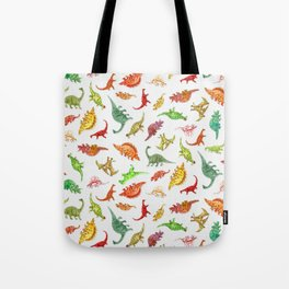 Dinosaur Party Pattern Tote Bag