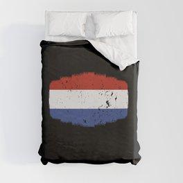 Netherland Flag Duvet Cover