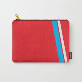 Red Slant Carry-All Pouch