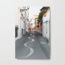 Rua da Saudade Metal Print