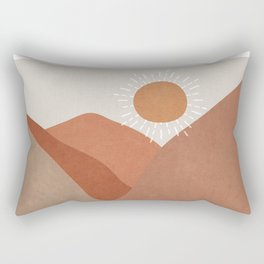 Minimalistic Landscape I Rectangular Pillow