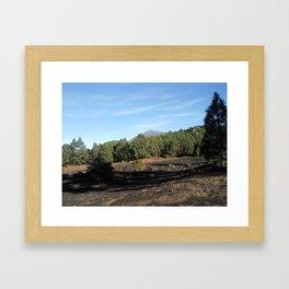el Teide - Tenerifa Framed Art Print