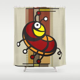 Deco Parrot Shower Curtain