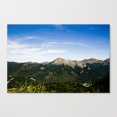 On the Moutain ? Canvas Print