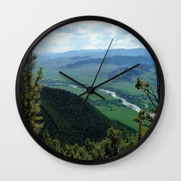 YellowStone  Wall Clock