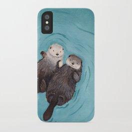 Otterly Romantic Sea iPhone Case