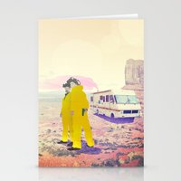 breaking bad Stationery Cards featuring Breaking Bad by PIXERS