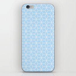 Hive Mind Light Blue #280 iPhone Skin