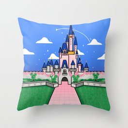 A Dream At the Park Throw Pillow