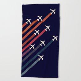 Aerial acrobat Beach Towel