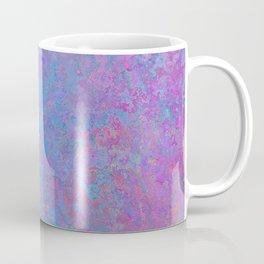 Purple and blue abstract background Coffee Mug