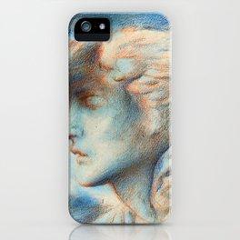 "Simeon Solomon ""Dawn (Head of Hypnos)"" iPhone Case"