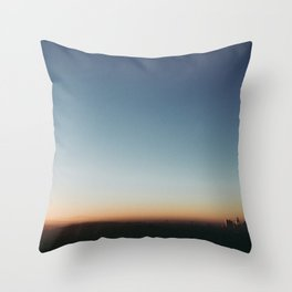 Sunrise in Hollywood Throw Pillow