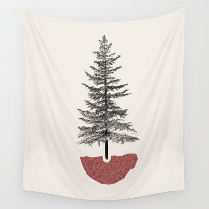 Fir Pine Wall Tapestry