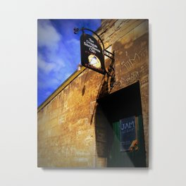Jam Night, Oamaru New Zealand Metal Print