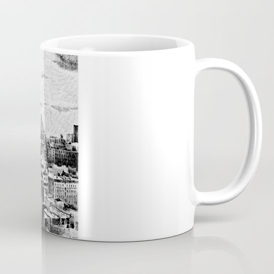 New York City - Fingerprint - Black ink Mug