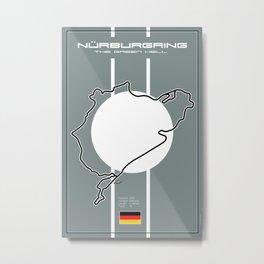 Nurburgring, the green hell Metal Print
