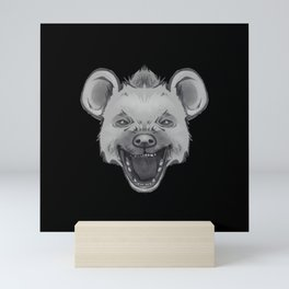 Icons of Africa - Spotted Hyena Mini Art Print