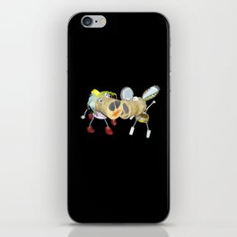 Tipsy Couple iPhone Skin