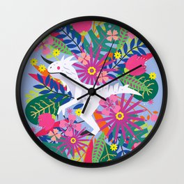 Primal Raptor Wall Clock