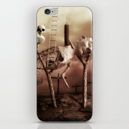Ladder to the Sky iPhone Skin