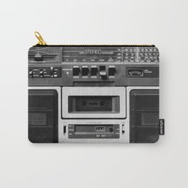 cassette recorder / audio player - 80s radio Carry-All Pouch