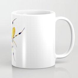 Golden Silk Orb Weaver Lineless Coffee Mug