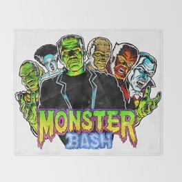 Monster Bash Throw Blanket