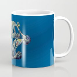Faux Real - Blue - This is Not Typography Coffee Mug