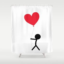 I give you my love by Oliver Henggeler Shower Curtain