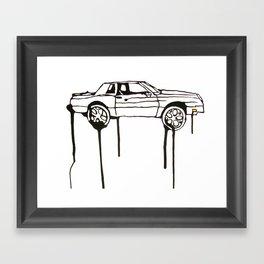 Scraper Framed Art Print