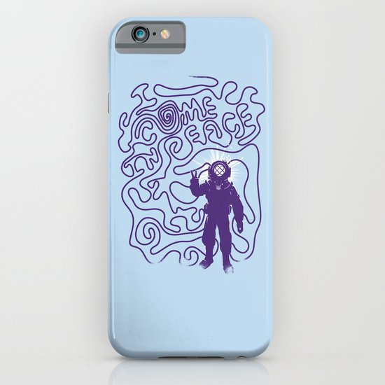 I come in Peace iPhone & iPod Case