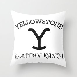 Yellowstone Dutton Ranch Throw Pillow