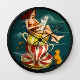 The bath Wall Clock